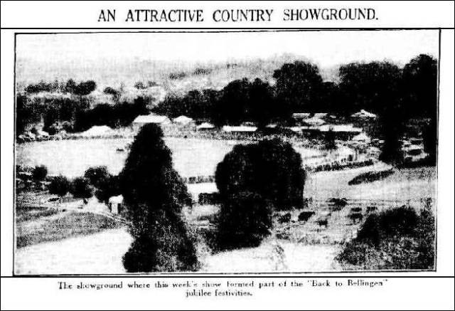SHOWGROUND: The Sydney Morning Herald, Saturday 25 March 1933, page 16.