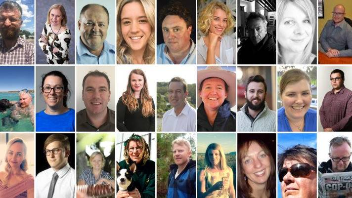 Australian Community Media's journalists from across the country who are contributing to our Voice of Real Australia newsletter.