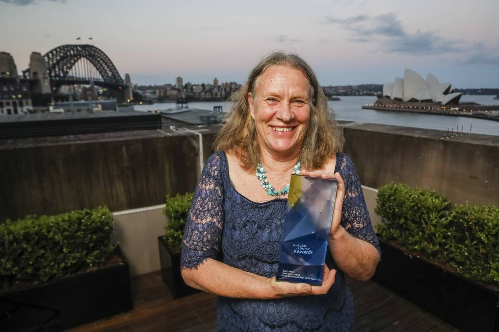 2020 NSW Senior Australian of the Year is Bellingen's Sue Lennox. Photo Salty Dingo