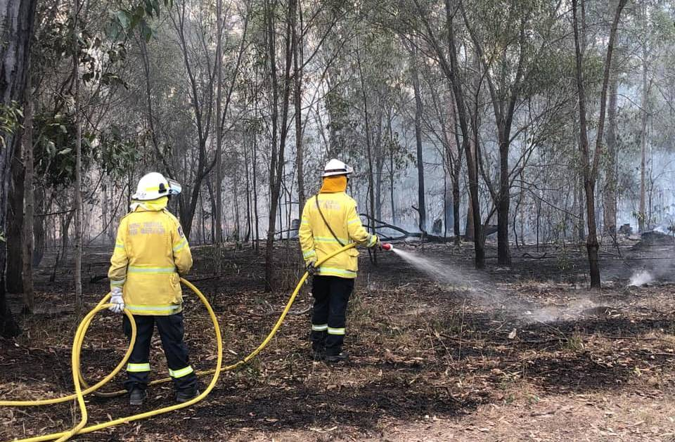 Fire permits have been suspended in the Kempsey and Nambucca shires. Photo: NSW RFS - Lower North Coast Team
