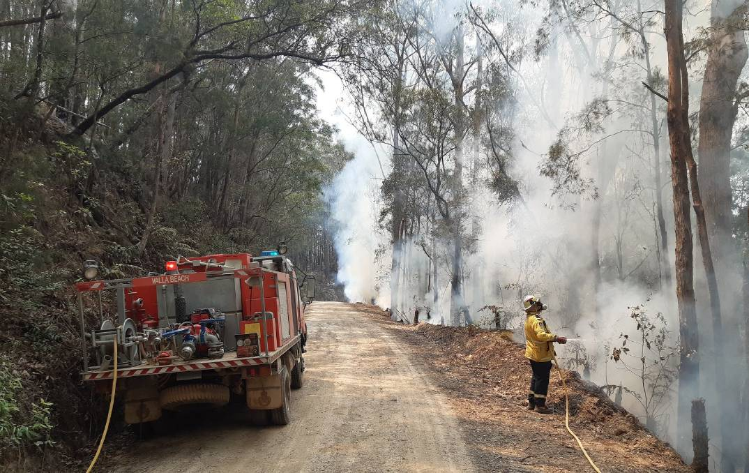 The bushfire danger period will end in Kempsey and Nambucca this weekend. Photo: NSW RFS - Lower North Coast Team