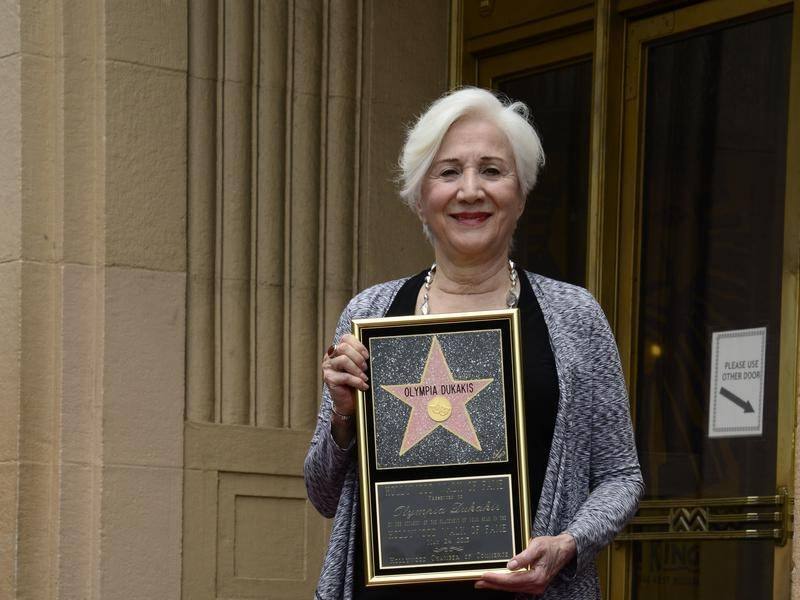 US actress Olympia Dukakis, who had a star on the on the Hollywood Walk of Fame, has died.