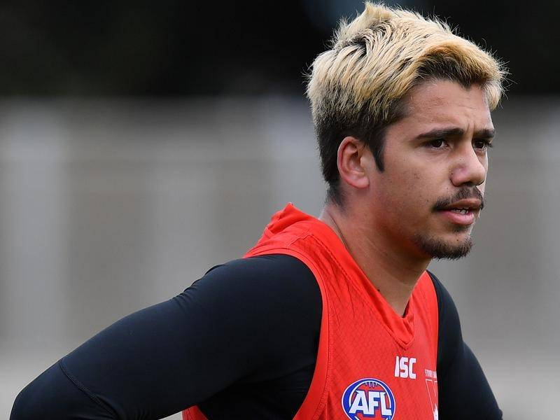 The Sydney Swans have stood down AFL player Elijah Taylor from all club commitments.
