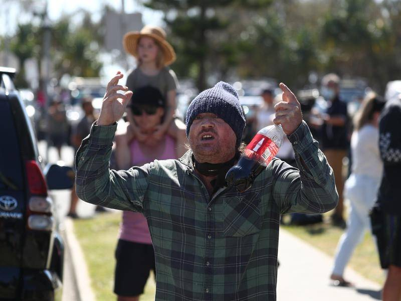 Dozens of anti-lockdown protests were held across NSW, with 135 people arrested and more fined.
