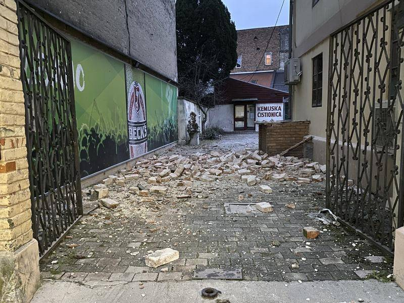 Earthquake Hits Croatia Damages Buildings Guardian News Nambucca Heads Nsw