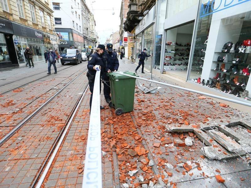 Strong Earthquake Hits Central Croatia Guardian News Nambucca Heads Nsw