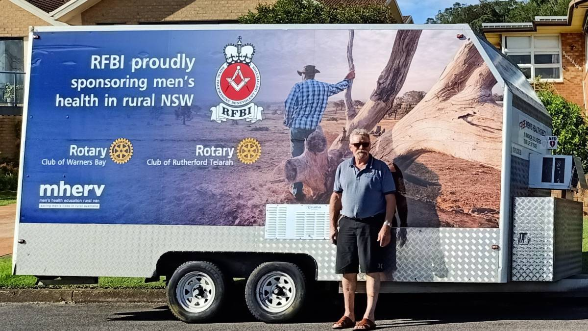 Rob Woolley has tested over 7000 people with mherv since the Rotary project was launched. Photo: Supplied